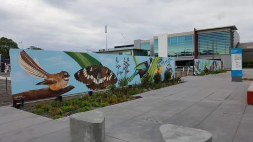 Anne McDonald - Street Murals and Murals