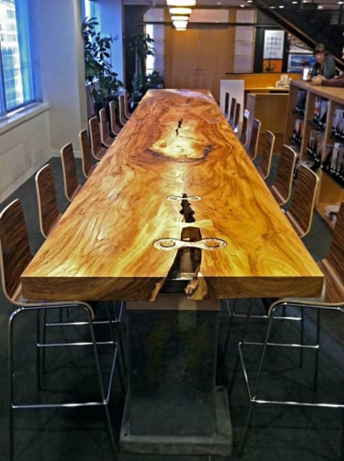 Tables by Willie Willette Works - Elm Work Table