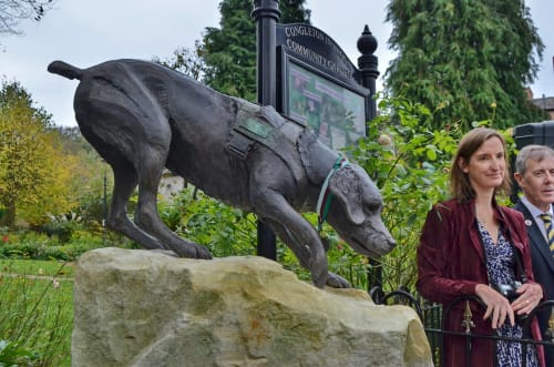 Public Sculptures by Amy Goodman. Sculptor & Portrait Artist seen at Congleton, Congleton - 'Treo' 63 DM