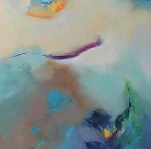 Paintings by Cecilia Arrospide at Private Residence, Miraflores, Comas, Comas - DEEP SEA