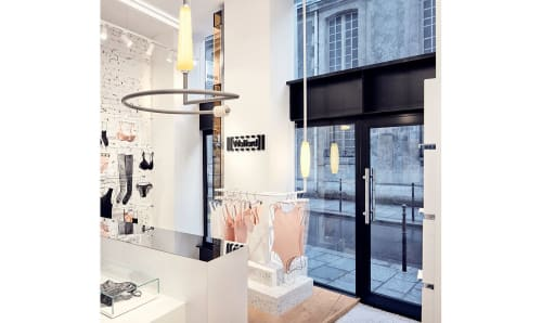 Interior Design by Studio Modijefsky seen at Wolford Boutique Paris, Paris - Interior Design
