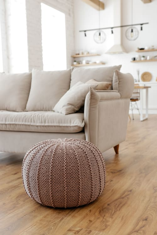 Benches & Ottomans by Chasha Home seen at Private Residence, Tomsk - Pouf