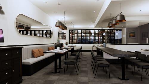 Architecture by Studio Hiyaku seen at The Hampton Court Hotel, Potts Point - Izgara