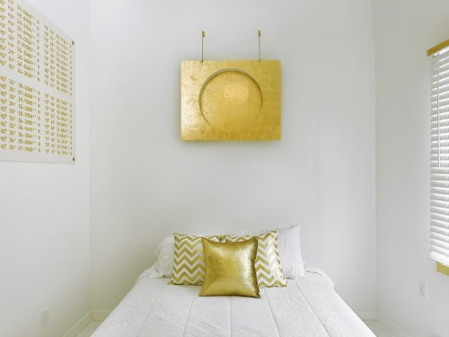 Wall Hangings by Jason Heuer seen at Rockaway Beach, Queens - Gold Moon Design