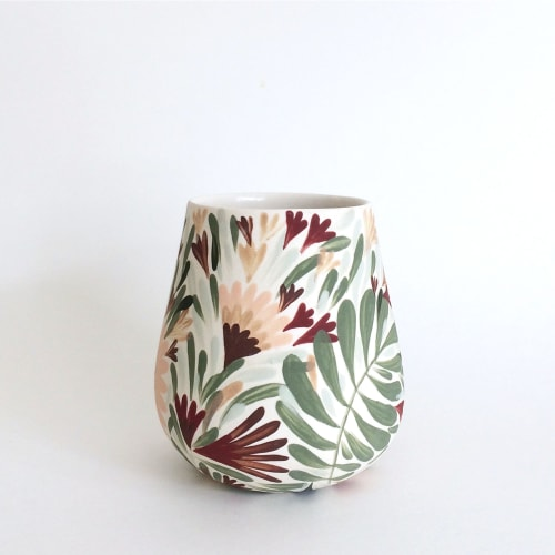 Cups by Anastasia Tumanova seen at San Francisco, CA, San Francisco - Botanical Tumblers