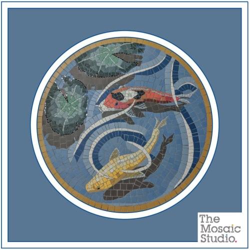 Public Mosaics by Paul Siggins - The Mosaic Studio seen at Wokingham, Wokingham - Wokingham Town Council External Floor Mosaics