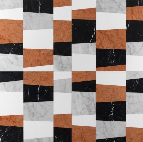 Tiles by Lithos Design seen at The Rise Osaka Kitashinchi, Osaka - Piano marble wall and floor covering