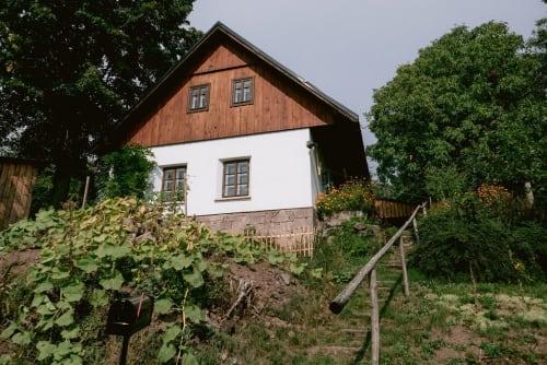 Interior Design by Design by BF - Barbora Ferencová seen at Countryside Cottage in Bezděčín, Czech Republic, Turnov - Interior Design