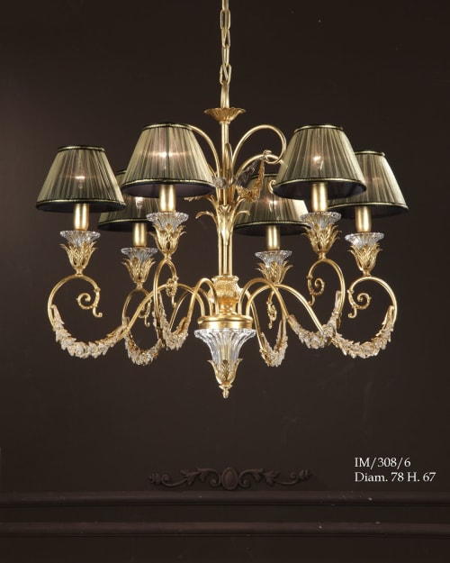 IM308-6 | Chandeliers by Gallo