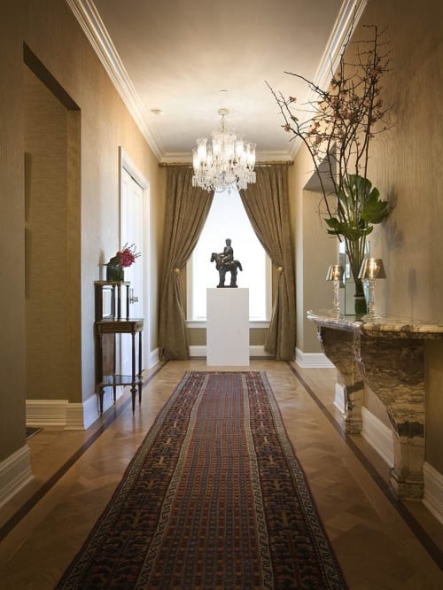 Interior Design by Michele Safra Interiors seen at The Plaza Hotel, New York - Interior Design
