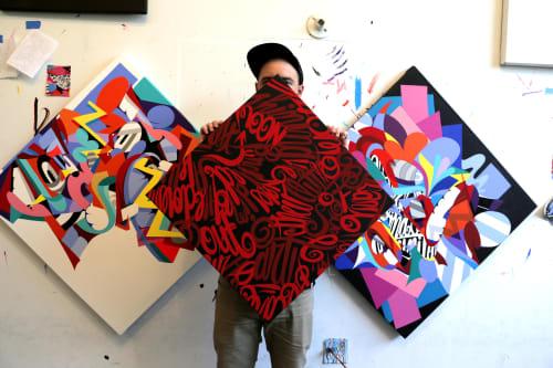 Eric Inkala - Murals and Paintings