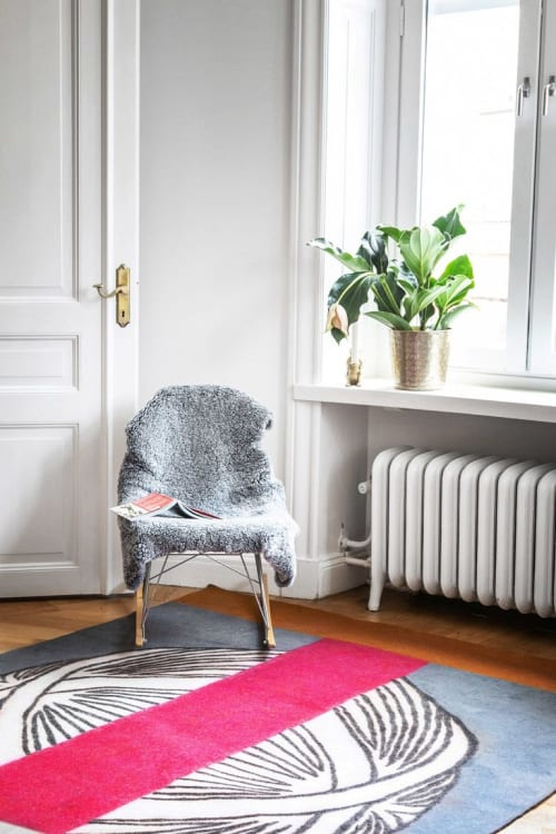 Rugs by Luminea Rugs seen at Private Residence, Stockholm - ORB