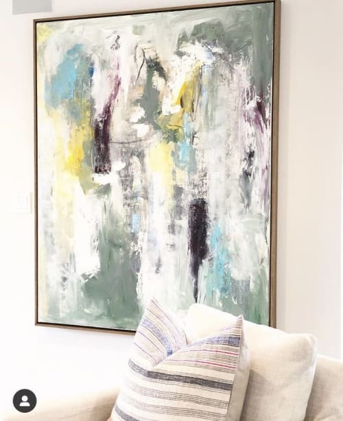 """Paintings by Boo Johnson seen at Private Residence, Los Angeles - """"California Freedom"""""""