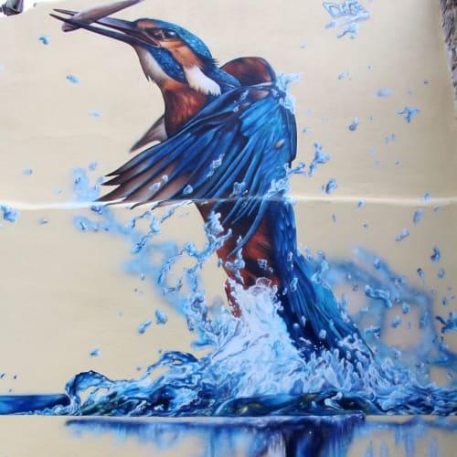 Street Murals by Camille Alberni aka Dege seen at Costaros, Costaros - Outdoor Mural