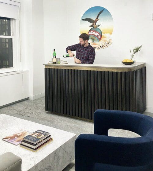 Interior Design by OAD Interiors seen at General Electric Building, New York - Branca USA Project