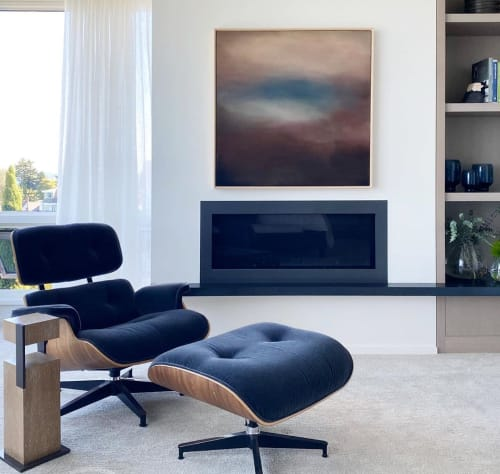 Tables by Antoine Proulx, LLC seen at Private Residence, Seattle - ET-174A End/Bedside Table