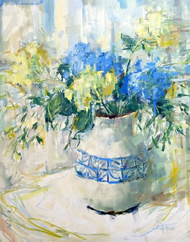 Paintings by Gina Brown seen at Private Residence, Charlotte - Create Anew