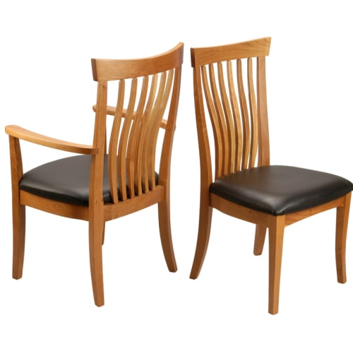Chairs by Greg Aanes Furniture seen at Bellingham, Bellingham - Greg Aanes