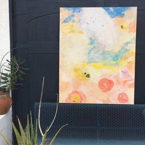 Paintings by Lizbeth Lindstrom seen at Private Residence, Miami - Painting