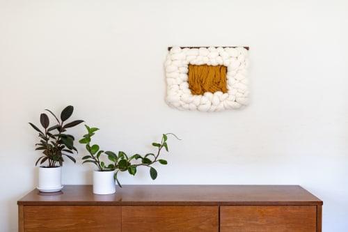 Wall Hangings by Keyaiira   leather + fiber seen at Private Residence, Santa Rosa - Sesame Cloud