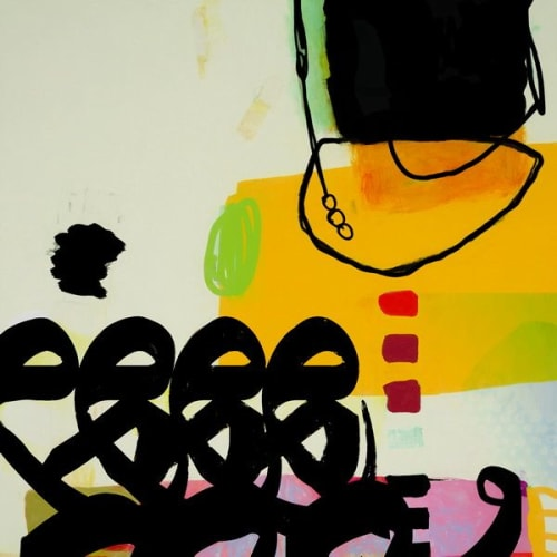 Paintings by Khalid Shahin seen at Dubai, Dubai - Tango