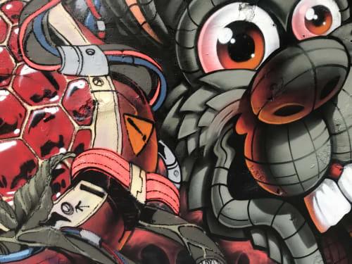 Highero - Murals and Street Murals