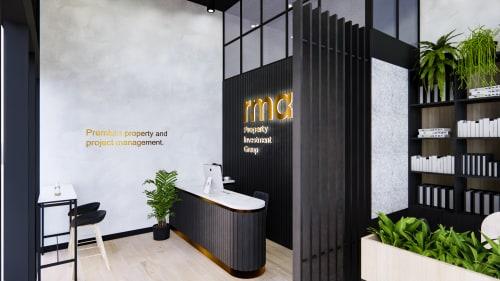 Interior Design by Studio Hiyaku seen at RMA Office, Erskineville - RMA Office