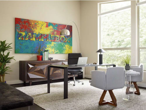Paintings by Jenny Handel Art at Private Residence, Renton - Zamplebox Painting