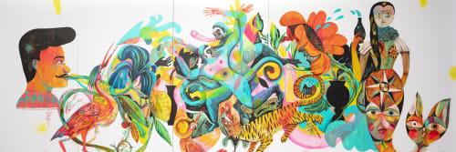 Olaf Hajek - Murals and Art