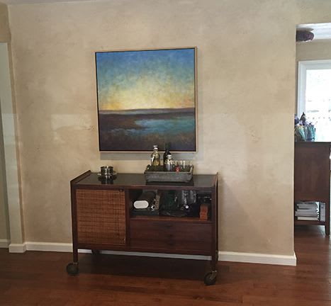 Paintings by Victoria Veedell seen at Private Residence, Redwood City - Looking towards Limantour