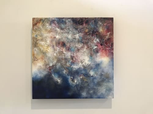 Paintings by Lifrancis Rojas seen at Private Residence, Weston - Clouded Minds