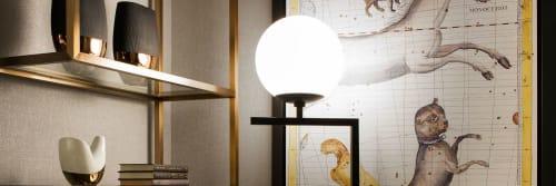 Scott Lamp - Sconces and Lamps