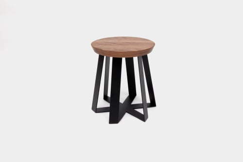 Tables by ARTLESS seen at Private Residence, Los Angeles - ARS Stool