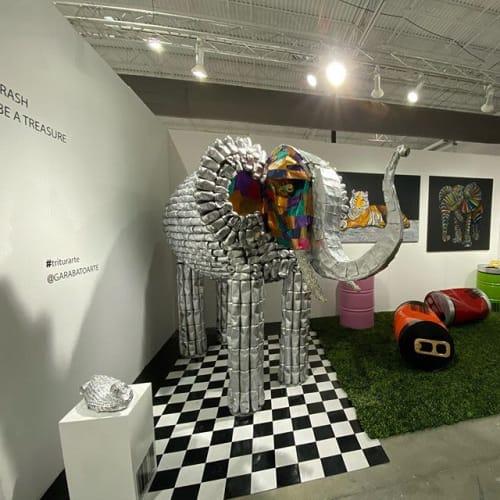 Garabato arte - Murals and Sculptures
