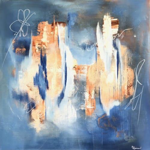 Paintings by Margaret Alice Høiesen seen at Creator's Studio, Stavanger - WOW !
