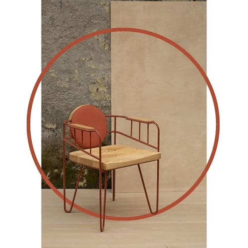 Chairs by Studio Wood seen at Delhi, Delhi - Connect 2.0