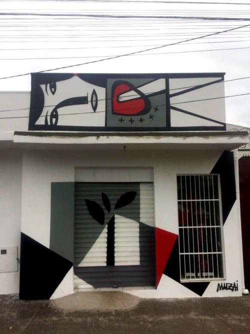 Macrame Wall Hanging by Muzai seen at Private Residence, Uberaba - mural