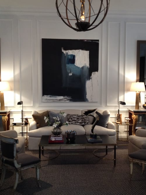 Paintings by Emilia Dubicki seen at Holiday House, New York - Nightfishing