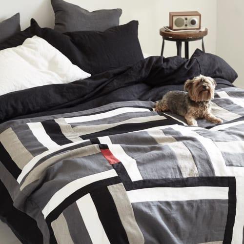 Linens & Bedding by Rough Linen seen at Rough Linen, San Rafael - Linen Quilt