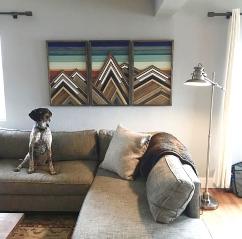 Wall Hangings by Sweet Home Wiscago at Private Residence, Denver, CO, Denver - Grand Tetons