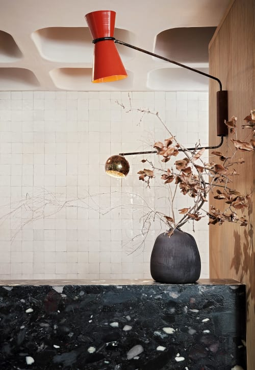 Sconces by STUDIO 19 seen at Private Residence, Johannesburg - Pointsman Lamp