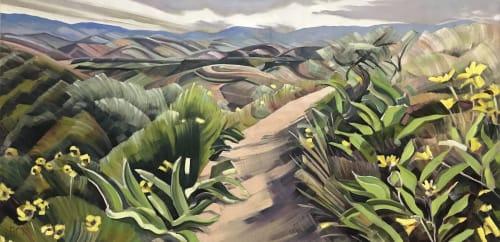 Rachel Teannalach - Paintings and Art