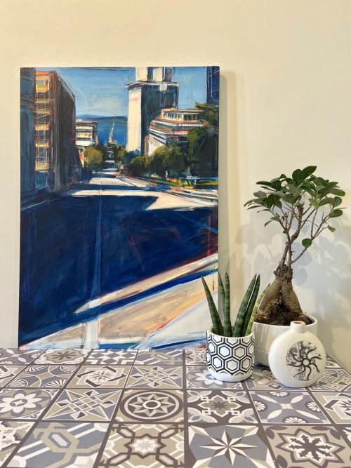 Paintings by Tom Voyce seen at Private Residence, Repton - Downtown Seattle 2