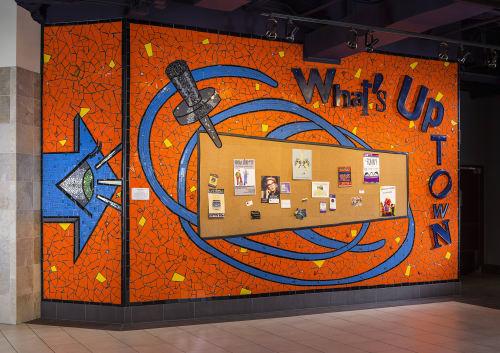 Public Mosaics by Stacia Goodman Mosaics seen at Minneapolis, Minneapolis - What's Uptown