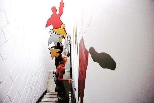 """Murals by Sara Nory seen at Habitas NYC, New York - Ma spirits """"Unite"""""""