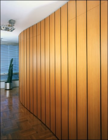 Furniture by Brian Cullen Furniture seen at Private Residence, New York - Eternity Wall