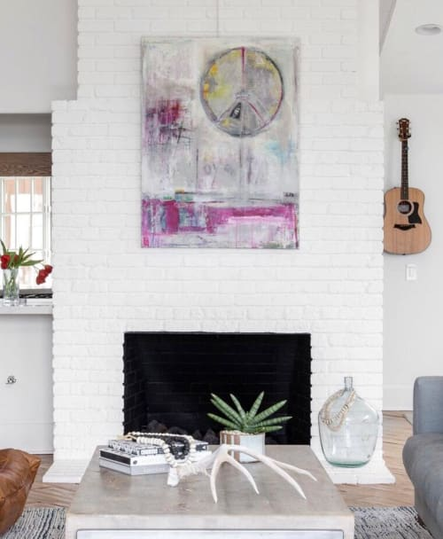 Paintings by Elizabeth Bridy seen at Private Residence, Laguna Beach - Loyalty