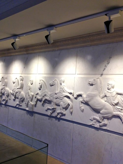 Art & Wall Decor by CAROL ANNE CASSIDY + ASSOCIATES seen at Private Residence, Perth - Marble relief replica