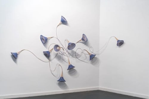 Wall Hangings by Xiaojing Yan seen at Private Residence, Toronto - Morning Glory