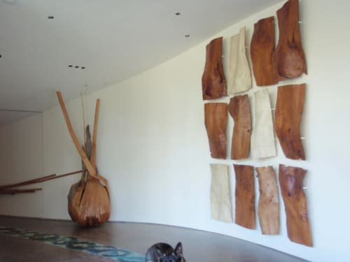 Sculptures by Christian Burchard seen at Private Residence, Bend - 'Fragments'